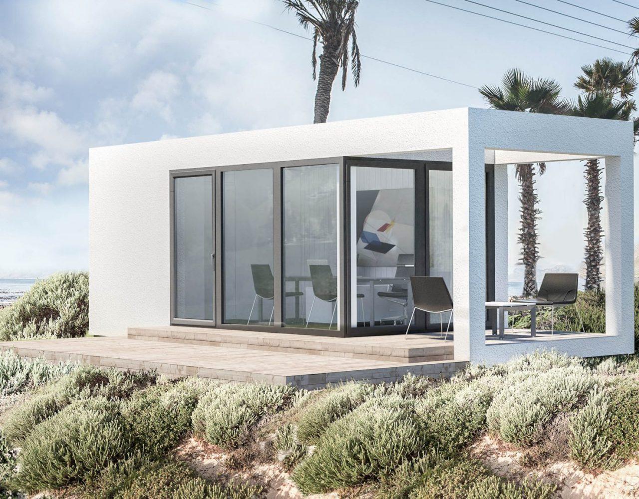 Medinis modulinis namas EX25.1