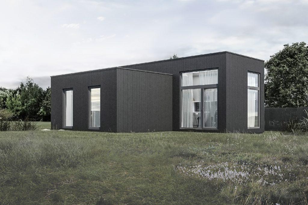 Medinis modulinis namas EX50.1